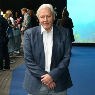Sir David Attenborough gifts special fossil to Prince George