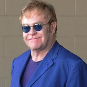 Elton John Prepares The Diving Board