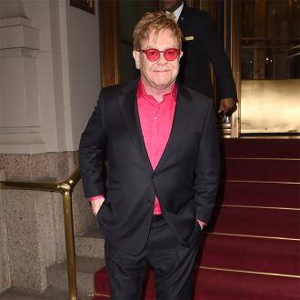 Elton John Gets His Personalised Nikes
