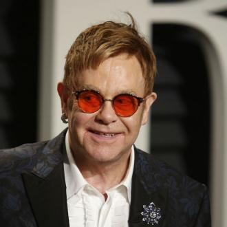Sir Elton John smashed up room