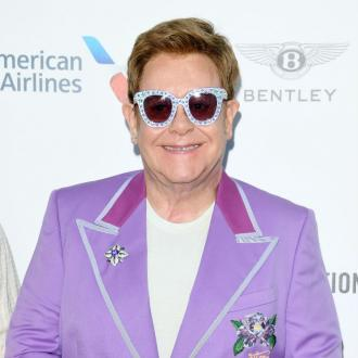 Sir Elton John wore a diaper during show