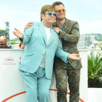 Elton John blasts criticism of Taron Egerton