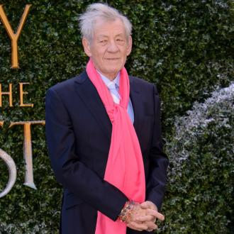 Ian McKellen gets mistaken for Dumbledore