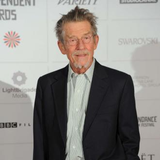 Sir John Hurt is 'extremely optimistic'