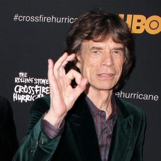 Mick Jagger Wears 'Glamouflage'