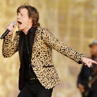 Sir Mick Jagger Sings Song At L'wren Scott's Memorial Service