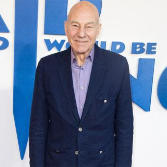 Sir Patrick Stewart writing autobiography in lockdown