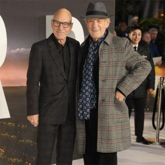 Sir Patrick Stewart touched by Sir Ian McKellen's wedding gesture