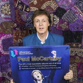 Sir Paul McCartney named UK's most successful albums act of all time