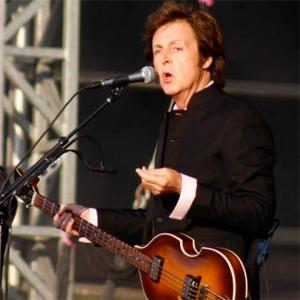 Paul Mccartney Immersed In Songs