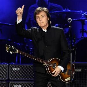 Paul Mccartney To Play Teenager Cancer Trust Show