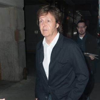 Sir Paul McCartney drums on Foo Fighters record