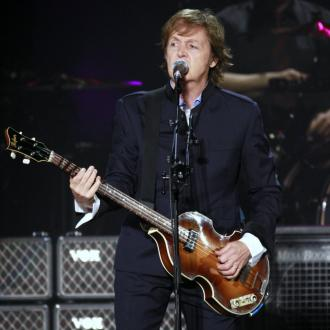 Sir Paul Mccartney's Nirvana Reunion At Sandy Concert