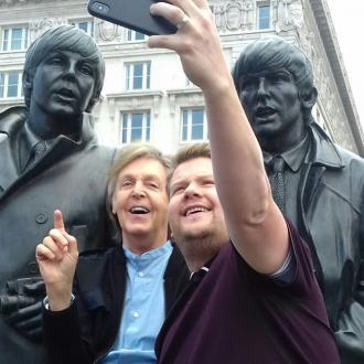 Sir Paul McCartney performs in Liverpool pub for Carpool Karaoke