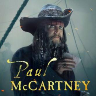 Sir Paul McCartney shares Pirates character picture