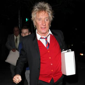 Sir Rod Stewart Charms Diners At His Son's Birthday Bash