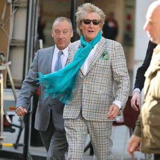 Sir Rod Stewart Charged With Simple Battery