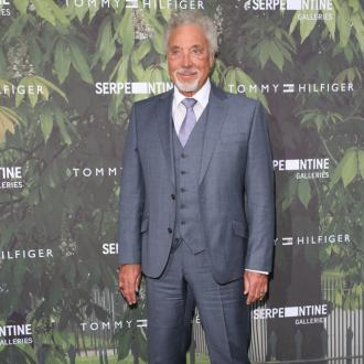 Sir Tom Jones hears his wife in his sleep
