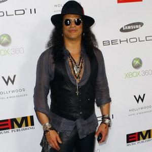 Slash Blasts Rock Scene