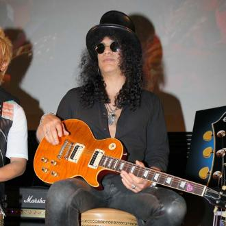 Slash Doesn't Disguise Himself For Halloween