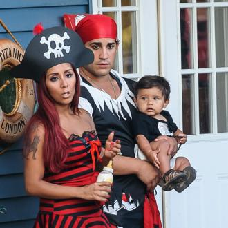 Snooki Treating Son To Trampoline For Christmas