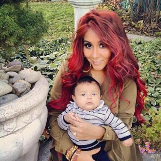 Snooki Is 'Thankful' For Lorenzo