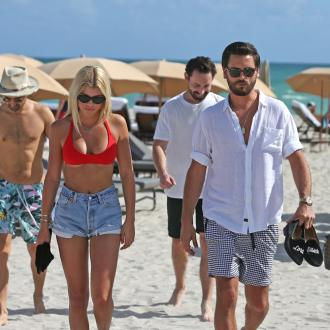 Scott Disick and Sofia Richie never split?