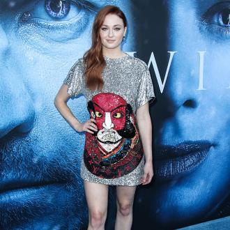 Sophie Turner is the Girl Who Fell From The Sky