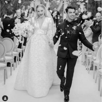 Joe Jonas sees Sophie Turner walk down the aisle when he sings his song 'Hesitate'