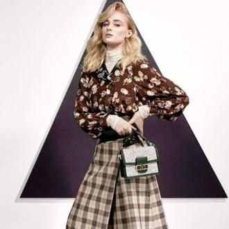 Sophie Turner stars in Louis Vuitton campaign
