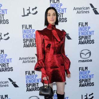 St. Vincent remembers being 'out of her mind' on tour