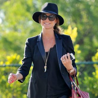 Stacy Keibler enjoys 'the perfect babymoon'