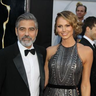 Stacy Keibler Loves Clooney's Beard