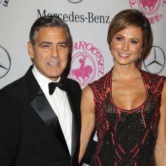 Stacy Keibler 'Wishes' Happiness For George Clooney