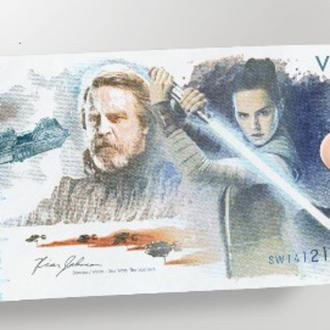 Special Star Wars Commemorative Note To Be Released