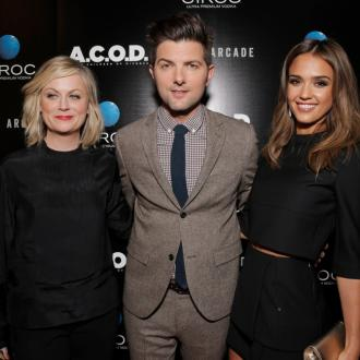 Jessica Alba Debuts New Haircut At Acod Premiere