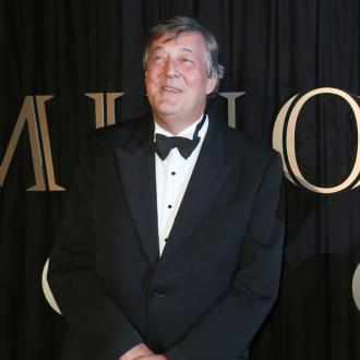 Stephen Fry returns to work