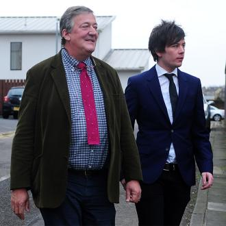 Stephen Fry marries Elliott Spencer