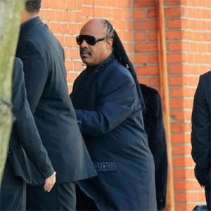 Stevie Wonder Sings At Whitney Houston's Funeral