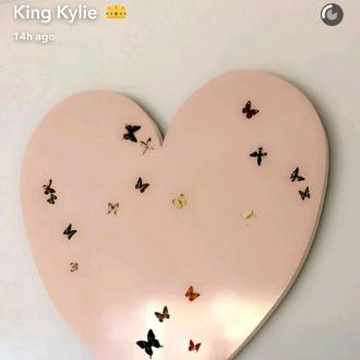 Kylie Jenner shares first look at Stormi's nursery