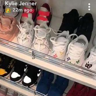 Stormi Webster's 22k shoe collection
