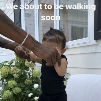 Kylie Jenner's daughter will be walking 'soon'
