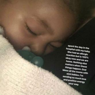 Kylie Jenner's Daughter Hospitalised