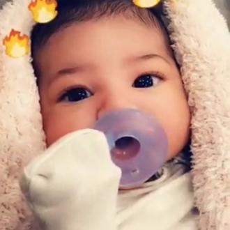 Kylie Jenner Shares First Full Picture Of Stormi