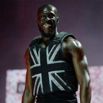 Stormzy's Glastonbury vest designed by Banksy