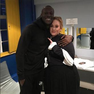 Adele surprises Stormzy after gig
