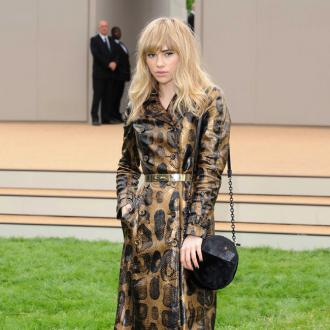 Suki Waterhouse is a 'tramp' at home