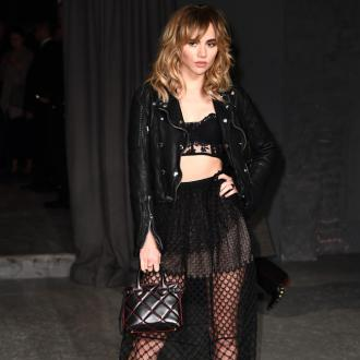 Suki Waterhouse believes Burberry fashion shows are 'always cutting edge'