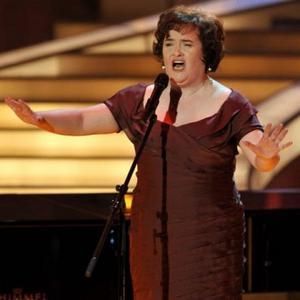 Susan Boyle's Glee-ful Christmas