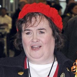 Susan Boyle In Train Row